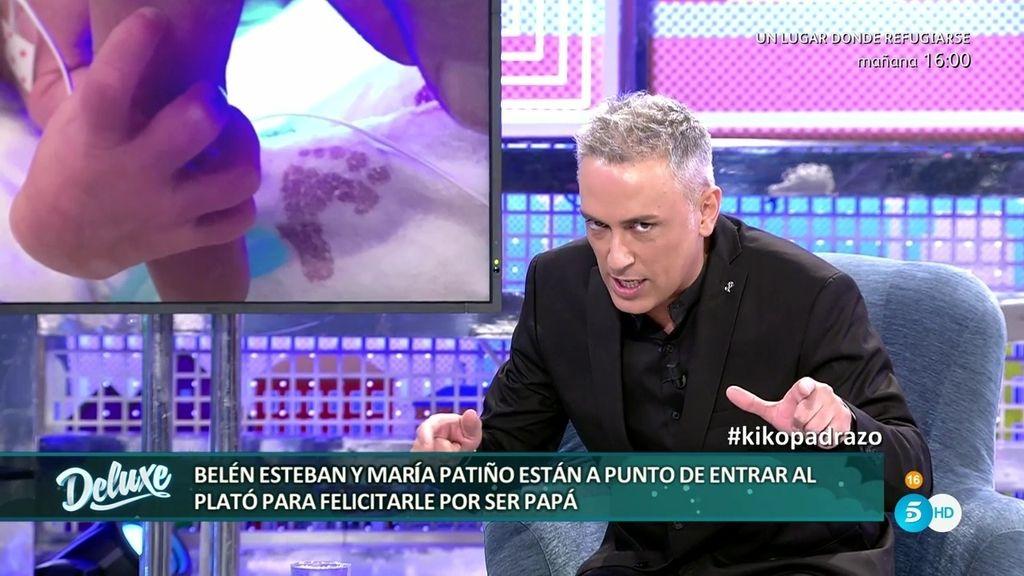 """Kiko envía un mensaje a sus hijas Abril y Jimena: """"No se os ocurra venir al polideluxe"""""""