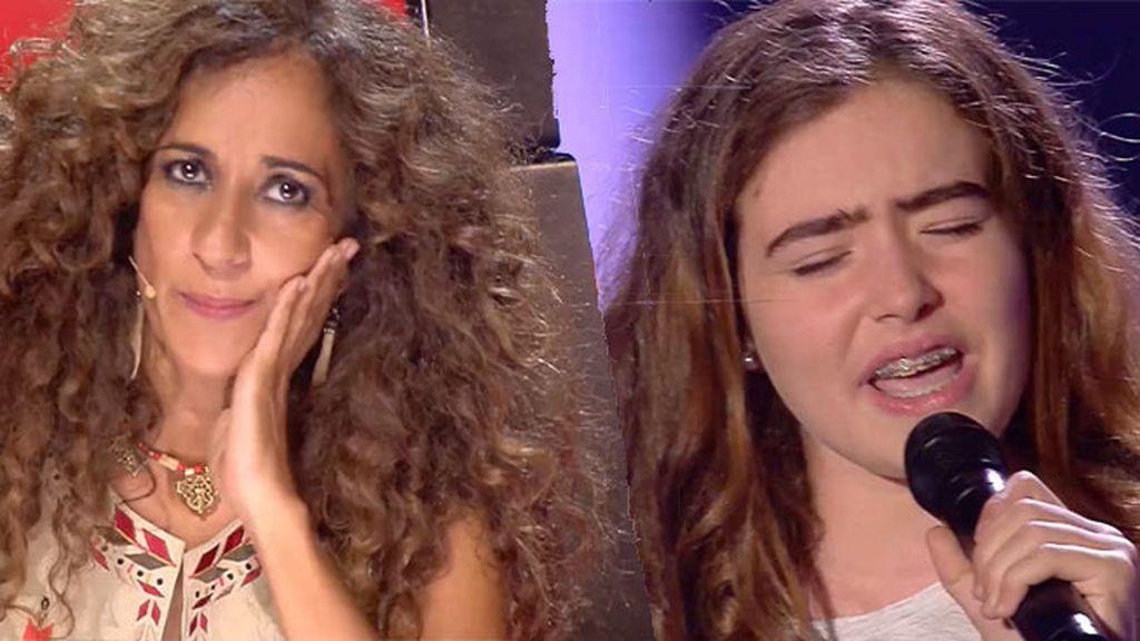El sentimiento de Lucía cantando 'Skinny love' convence a Rosario