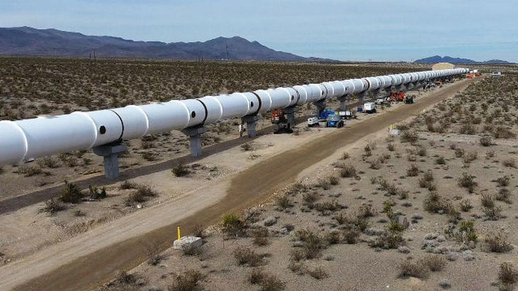 Pista para el hyperloop