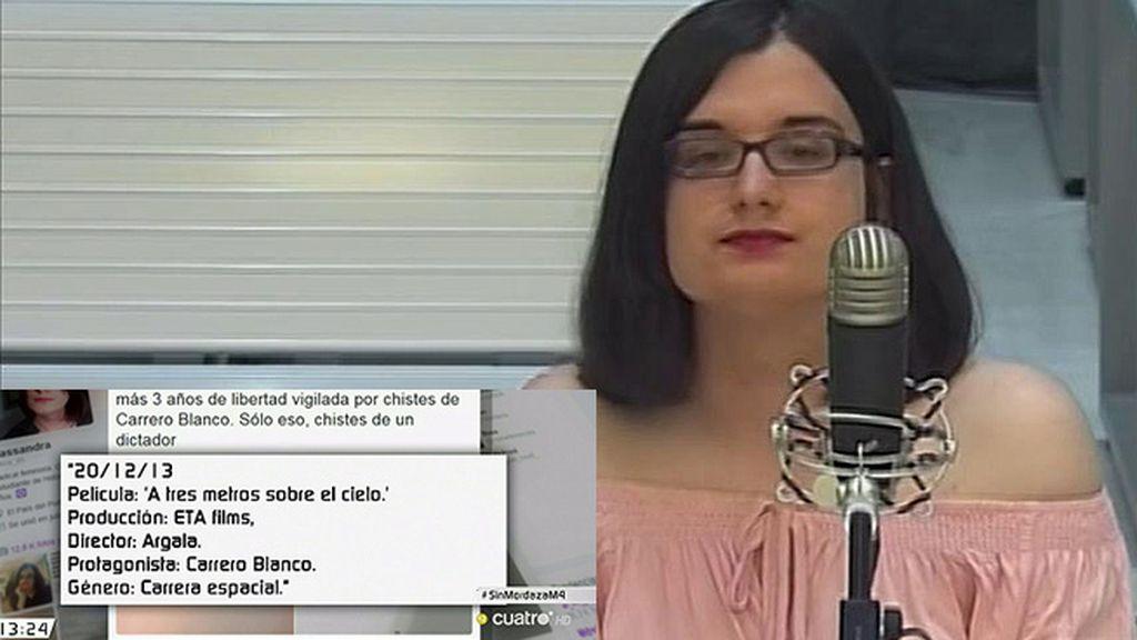 Comienza el juicio contra Cassandra por sus tuits sobre Carrero Blanco