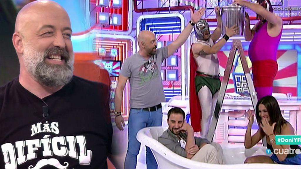 Goyo Jiménez, el jefe más cruel en 'No le digas a mamá que trabajo en la tele'