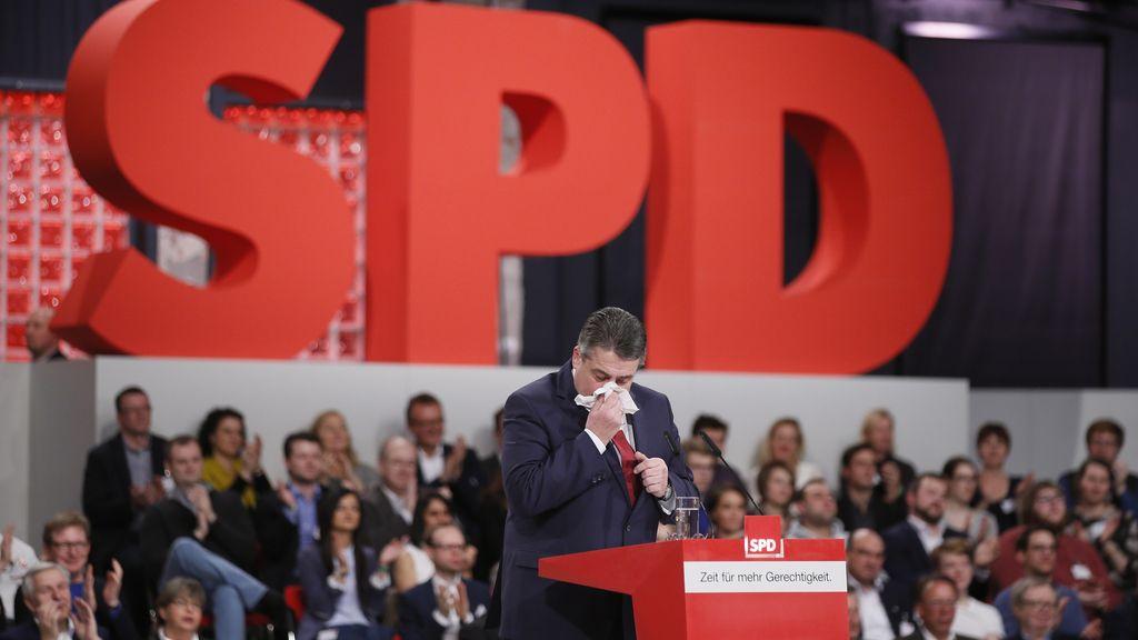 Convención del partido SPD en Berlín