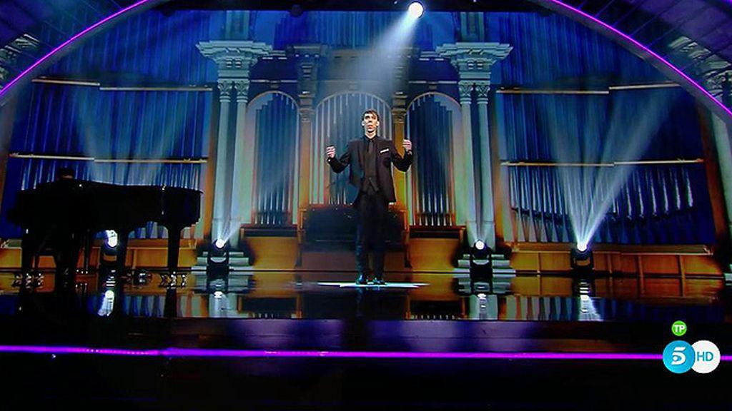 Olmo, la voz exquisita de Risto para la 'última oportunidad' de 'Got Talent'