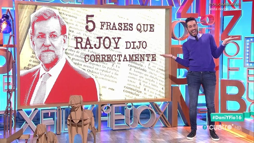 Las 5 frases que Rajoy dijo correctamente 😲