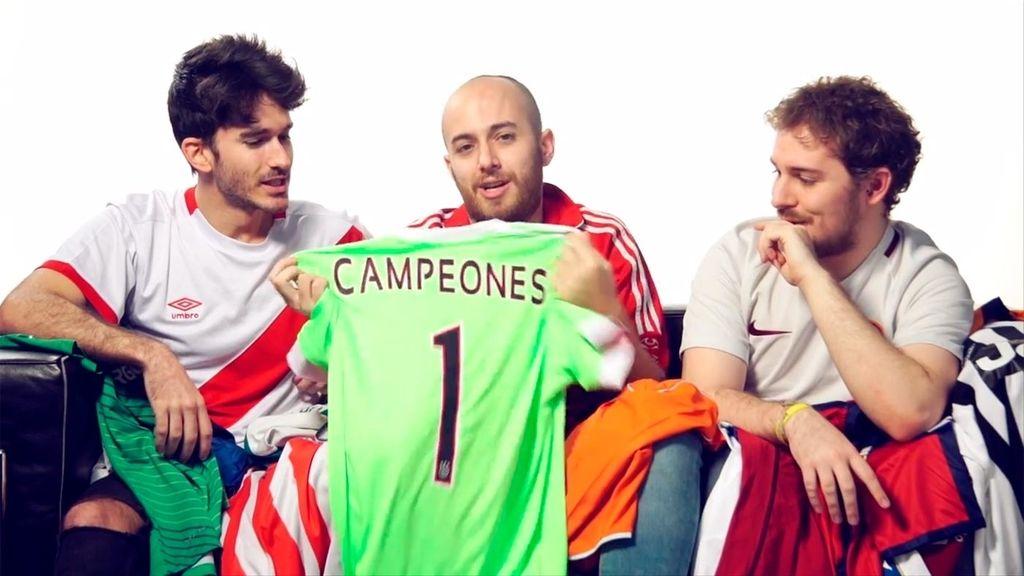 Campeones, en Mtmad: 'Las mejores camisetas del fútbol mundial'