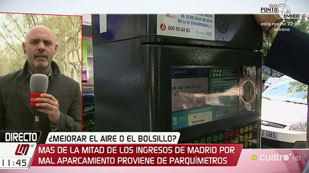 El Servicio de Estacionamiento Regulado en Madrid podría empezar a cobrar 7 días a la semana y 24 horas al día