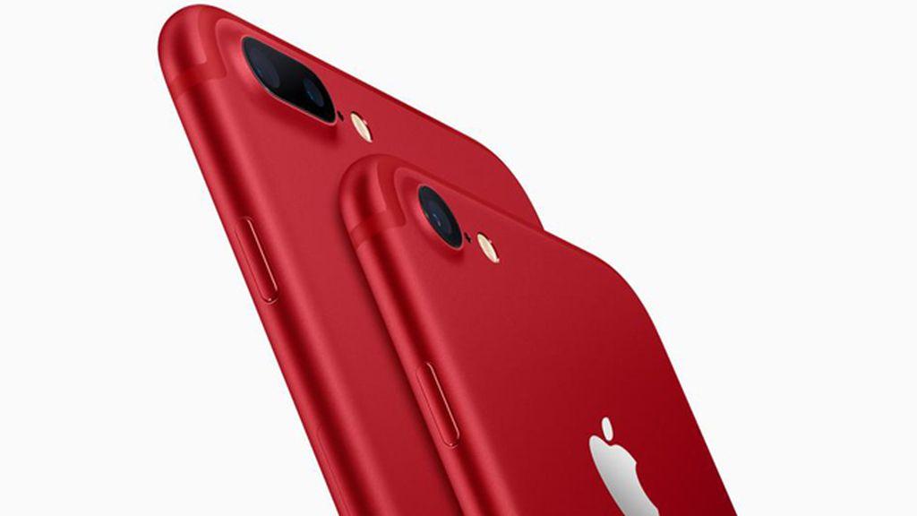 Apple lanza la edición especial de iPhone 7 y iPhone 7 Plus en rojo