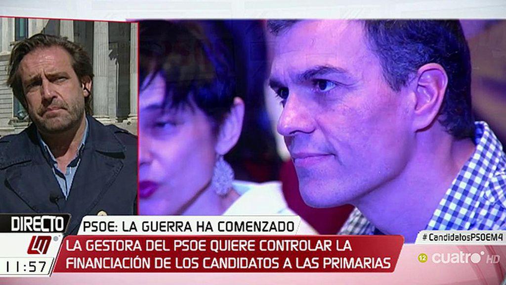 """Luis Arroyo: """"Creo que Susana Díaz le tiene miedo a Pedro Sánchez"""""""