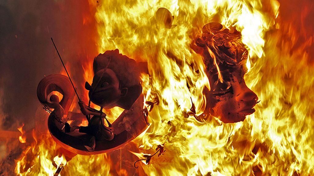 Fallas 2017: Valencia arde