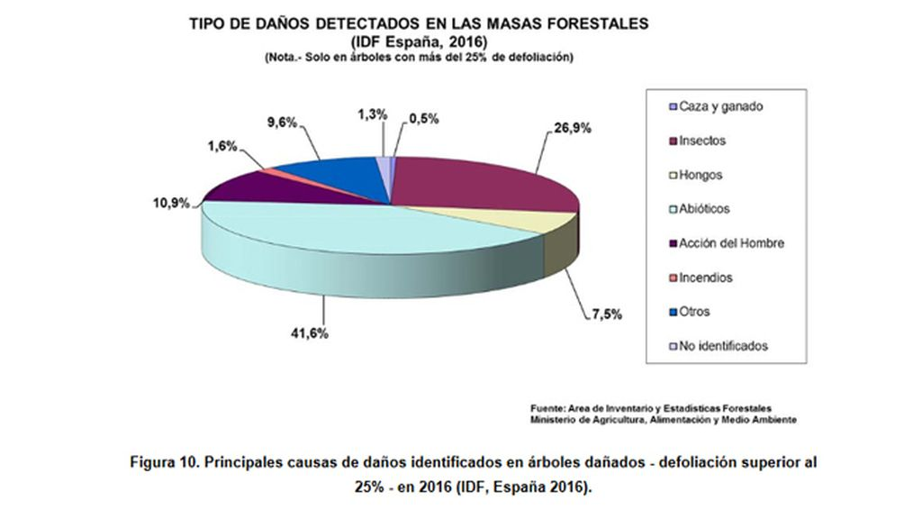 Inventario de Daños Forestales