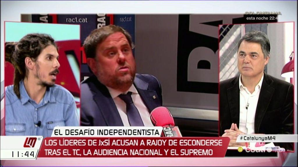 """Alberto Rodríguez: """"El gobierno de Rajoy ha sido una fábrica de independentistas"""""""