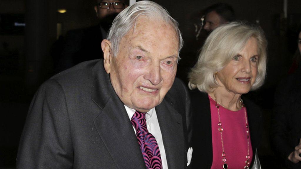 El multimillonario David Rockefeller muere a los 101 años de edad