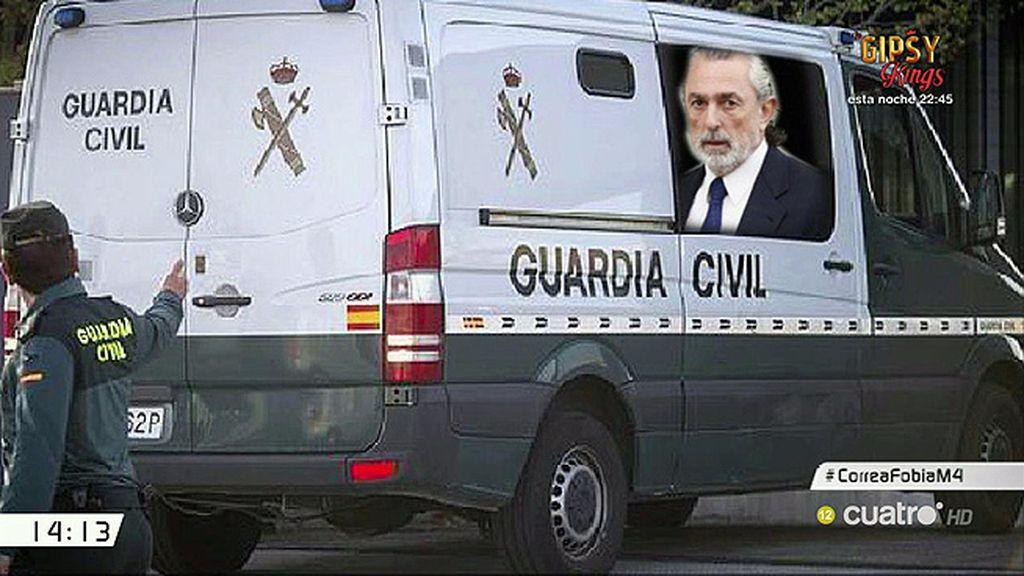 Claustrofobia: El motivo por el que Correa no irá al juzgado en furgón policial