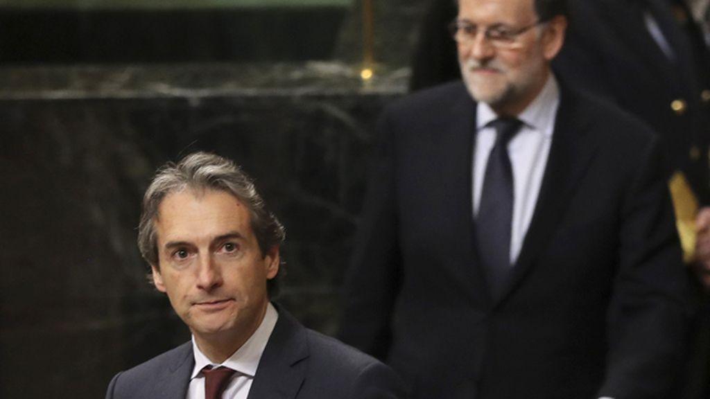 Íñigo de la Serna y Mariano Rajoy