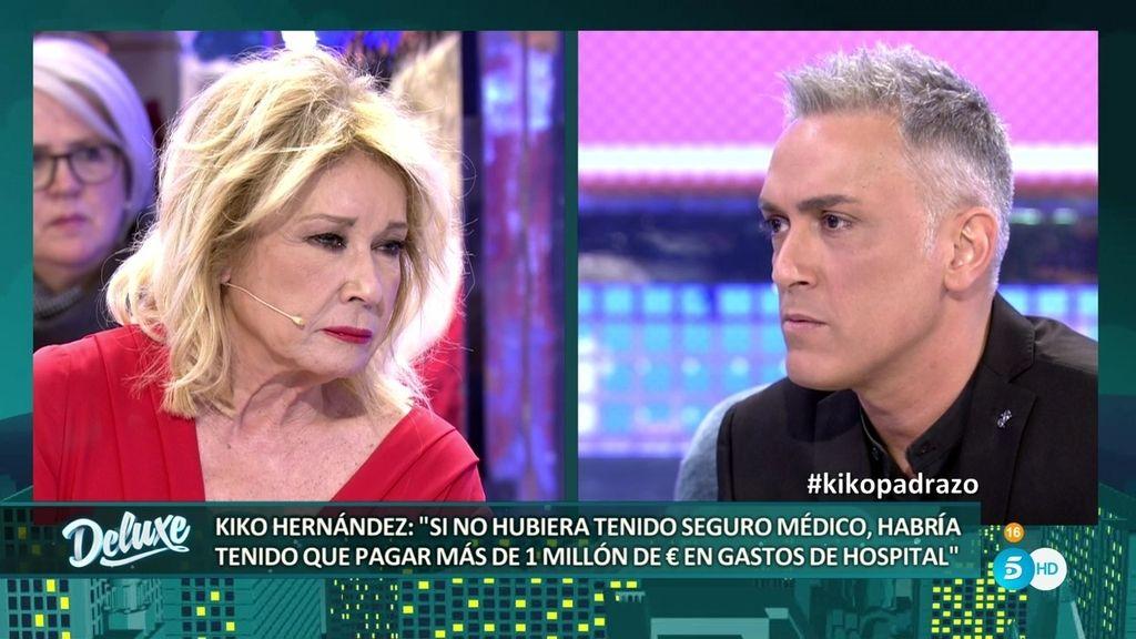 """Kiko Hernández responde a Mila: """"Hubo un momento en el que me arrepentí"""""""