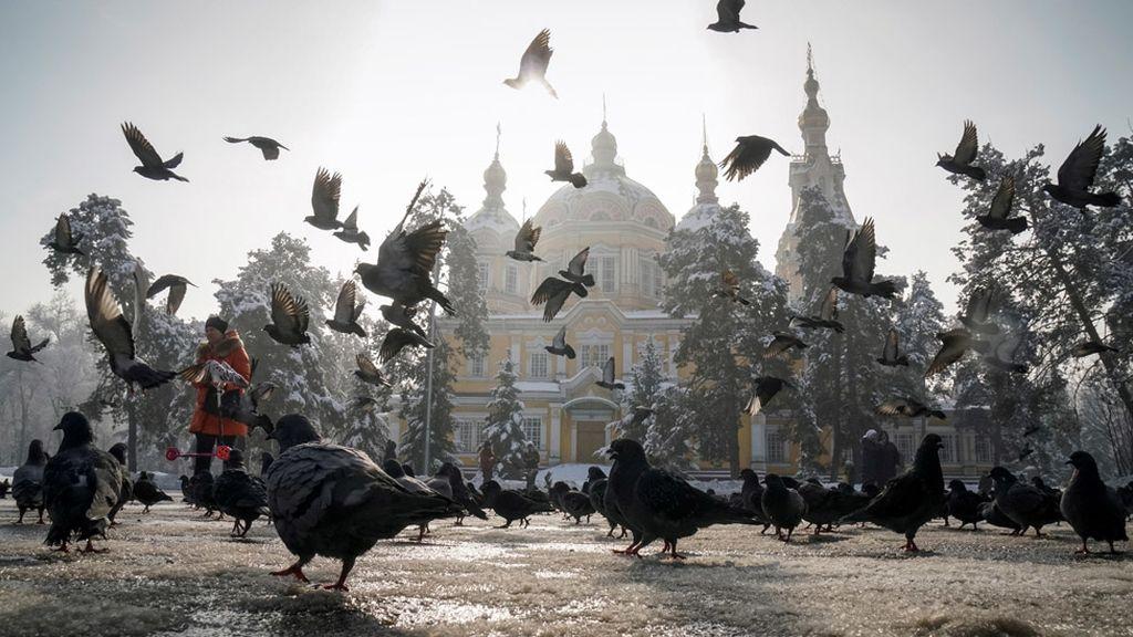 Catedral ortodoxa en Almaty