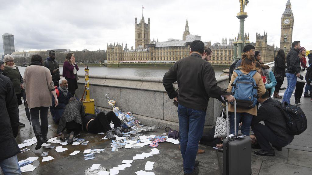 Caos en Londres por un atentado terrorista