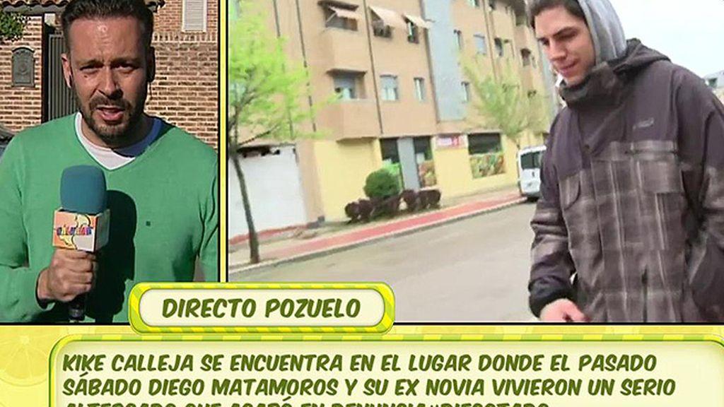 """Kike Calleja: """"Diego Matamoros ha pedido que un perito mida su fuerza"""""""