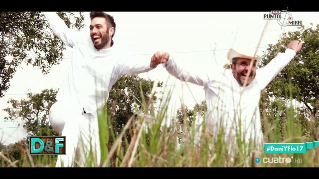 Flo y Dani, dándolo todo para que España suba en puestos de felicidad 😂