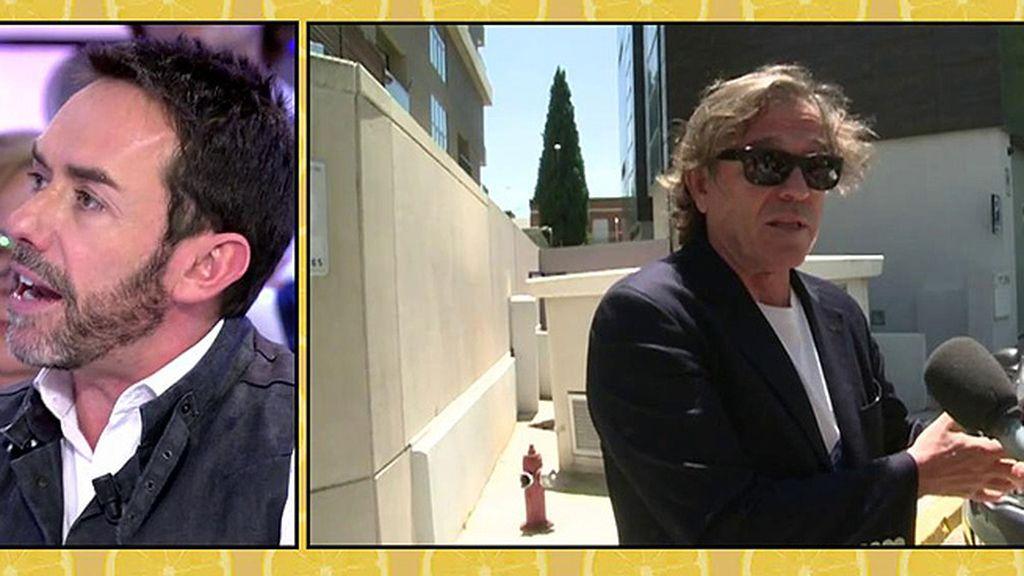 """J.M. Ruiz: """"Pepe Navarro dice que su hija Andrea no es hermano del hijo de Ivonne"""""""