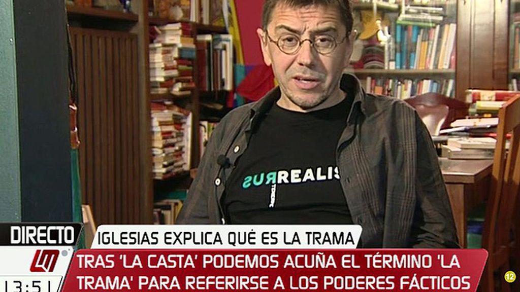 """Monedero ve amenazas en la carta de Granados a Aguirre: """"Son maneras mafiosas"""""""