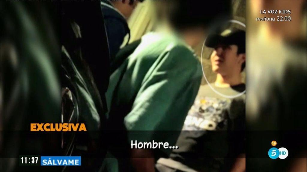 Froilán se encara con un joven al salir de una conocida discoteca de Madrid