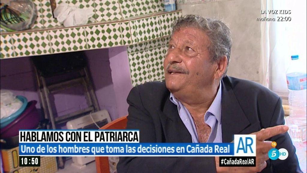 """Fernando, patriarca: """"Que se lleven a los traficantes, pero que no destruyan las casas"""""""