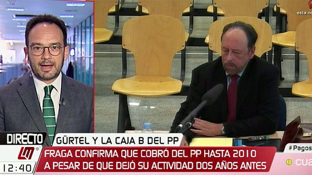 """Antonio Hernando, sobre el PP y Luis Fraga: """"Se le pagó para comprar su silencio como se intentó con Bárcenas"""""""