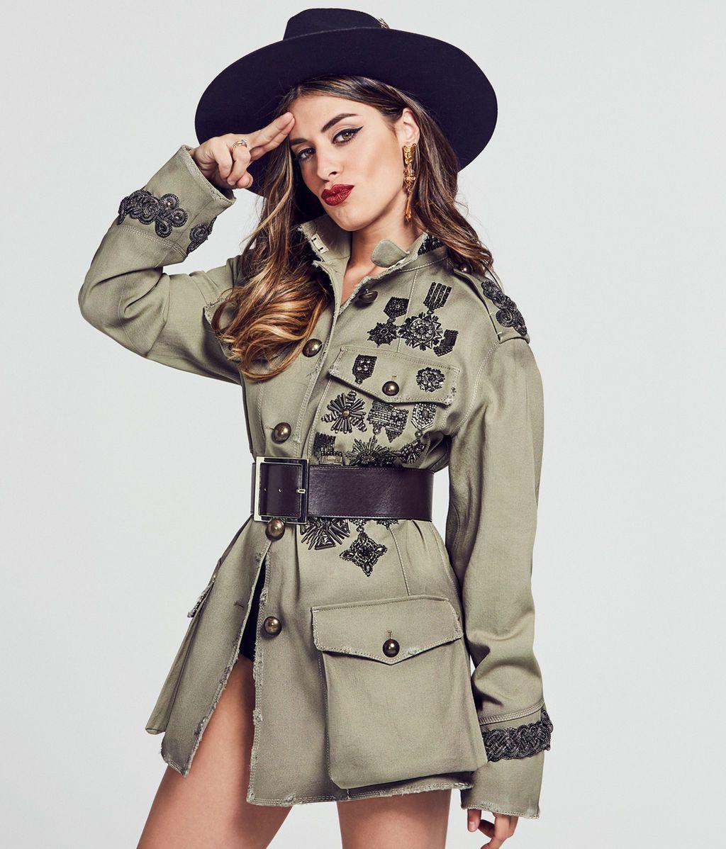 ¿Quién dijo que lo militar no es sexy y femenino?