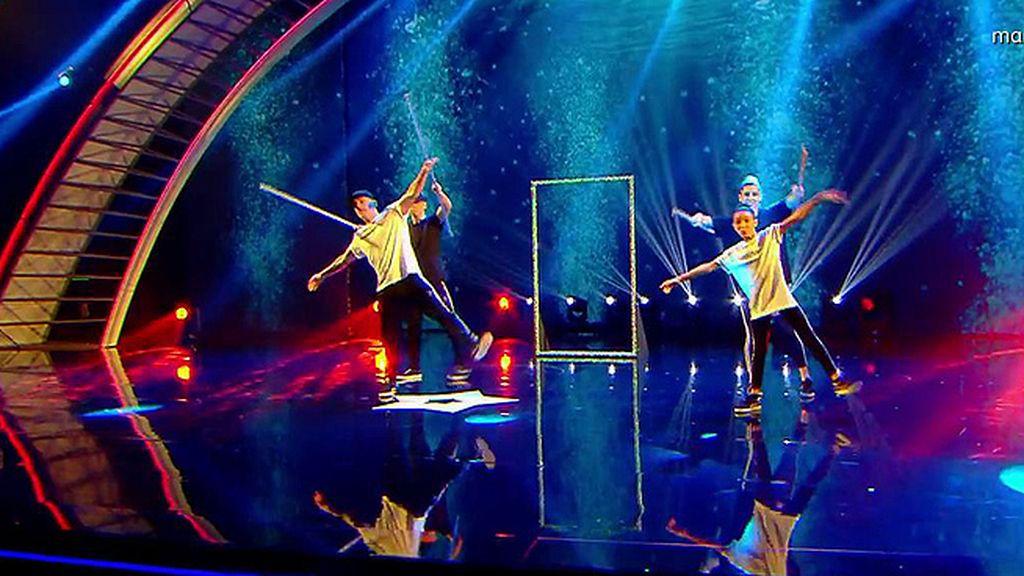 Kanga y Tania luchan con agilidad y ritmo para entrar en la final de 'Got Talent'