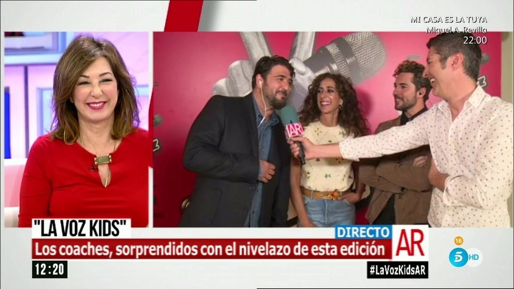 """Las bromas de Orozco: """"Esta edición con Malú y Manuel Carrasco es la mejor"""""""