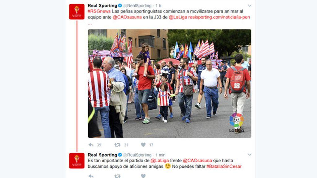 Sporting de Gijon, Atletico de Madrid, Osasuna