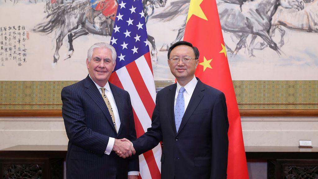 Reunión de homólogos de exteriores China-EEUU