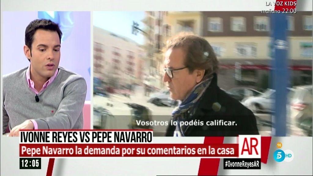 Antonio Rossi explica las razones por las que Pepe Navarro demandará a Ivonne Reyes
