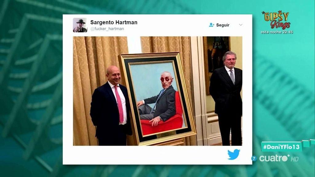 Las 'memerables' bromas con el retrato del exministro Wert