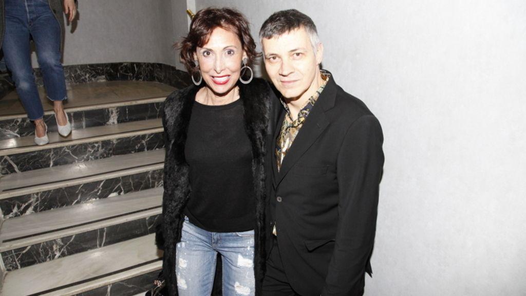 María Barranco con Juan Sánchez
