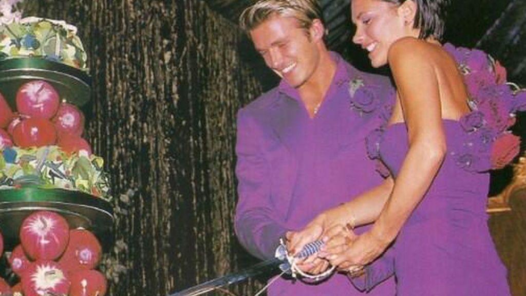 La tarta de los Beckham