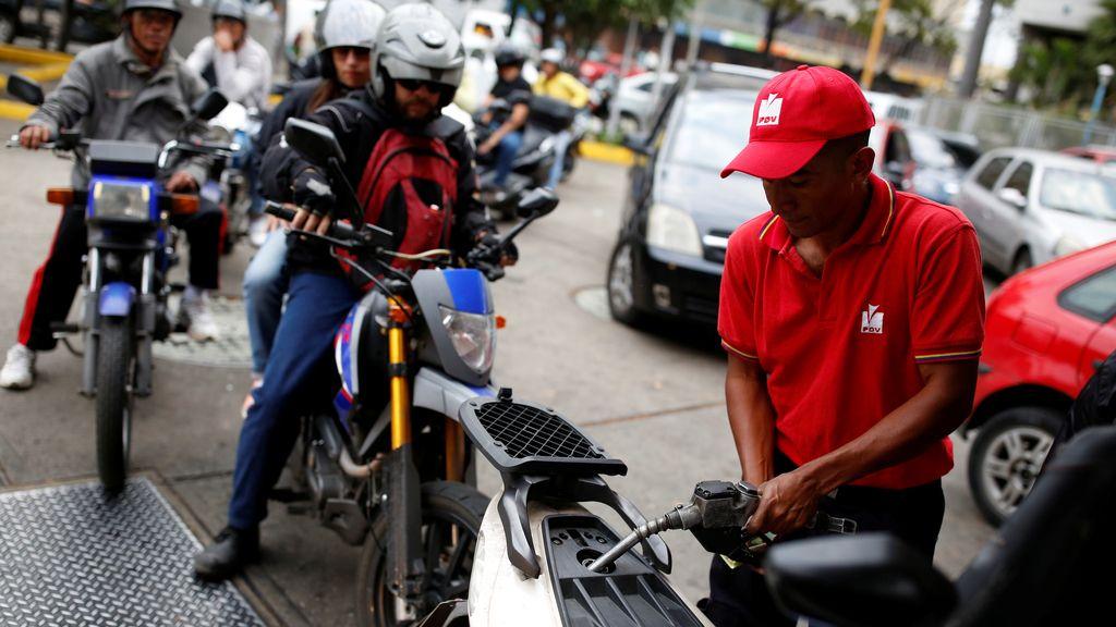 Venezuela sufre el desabastecimiento de combustible