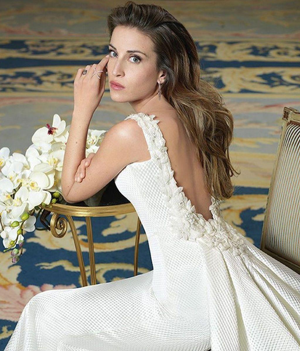 Marta  Castro vestido novia