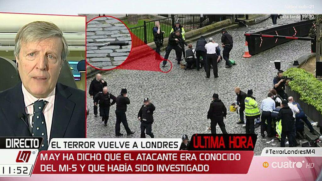 """J.M. Irujo: """"El sitio y la fecha del atentado de Londres no son casuales, buscan atraer la mayor atención"""""""
