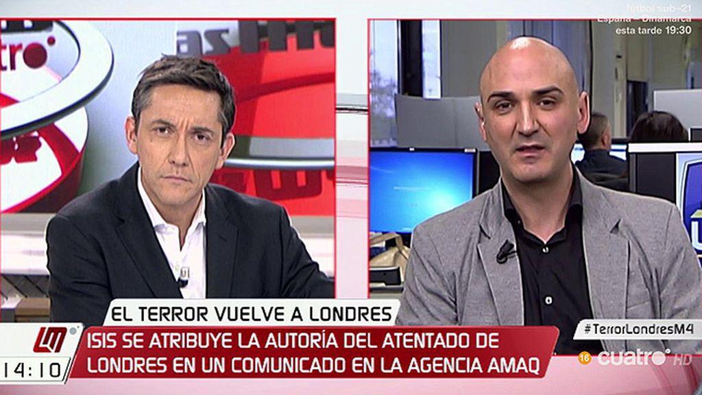 """Serafín Giraldo: """"La labor de prevención que se lleva dando desde los atentados de Atocha está dando sus frutos"""""""