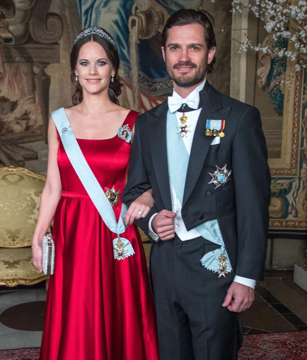 Carlos Felipe de Suecia y Sofía