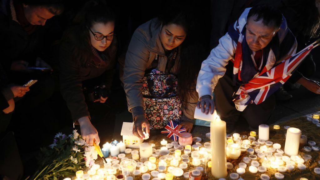 Vigilia por las víctimas del ataque terrorista en Londres