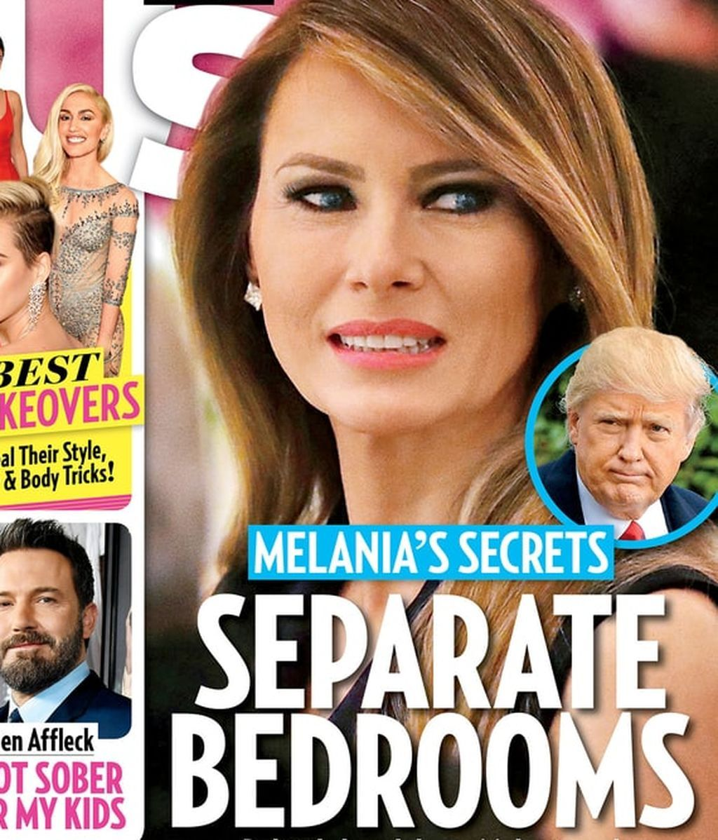 Portada US weekly Melania Donald