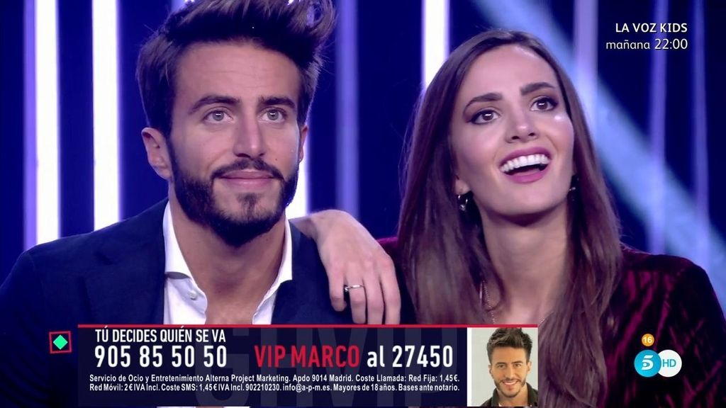 """Aylén, sobre su relación con Marco : """"Cuando demuestro amor, hago la ..."""