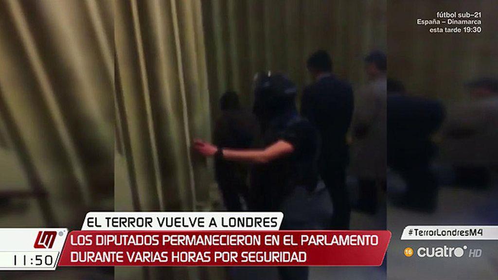 Atentado de Londres: Así fueron desalojados los parlamentarios
