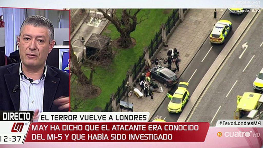 """J.M. Benito, sobre el atentado en Londres: """"Creo que está fallando la legislación"""""""
