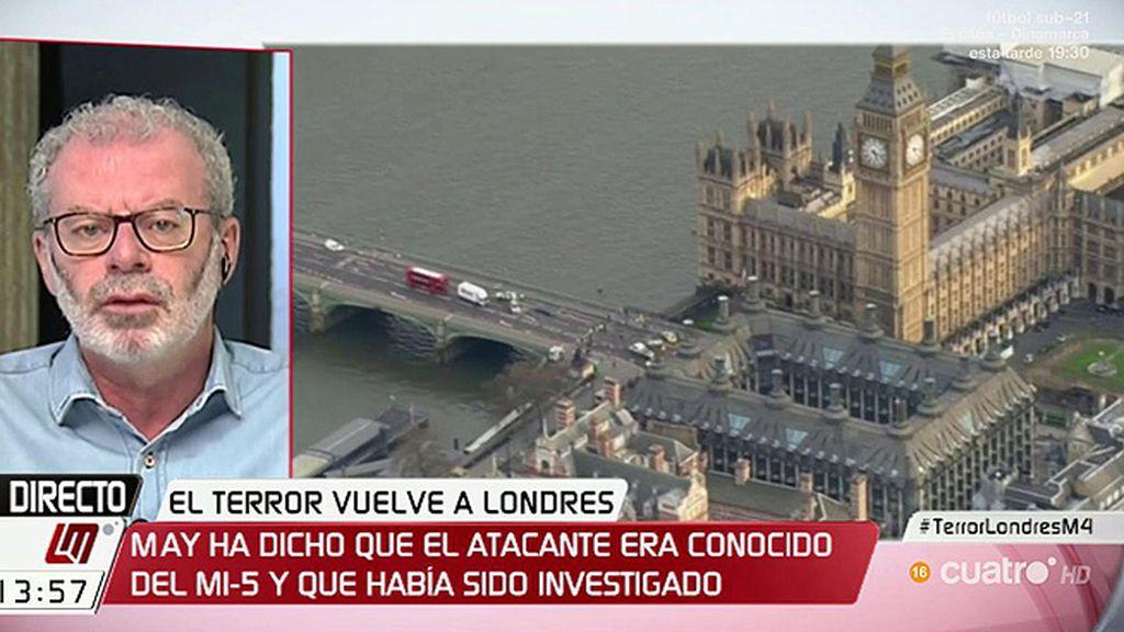 """Núñez Villaverde, sobre el atetado de Londres: """"Estamos en una nueva etapa de la llamada resistencia sin liderazgo"""""""