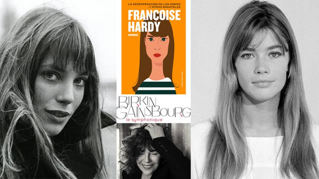 Jane Birkin y Françoise Hardy