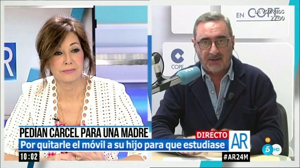 """Carlos Herrera: """"Hacer perder el tiempo a la Justicia es de una sociedad de imbéciles"""""""